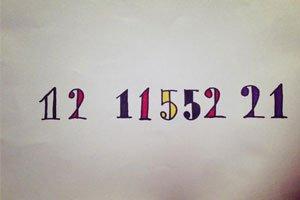 Fukaseがツイートした数字の暗号
