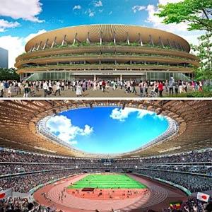 新国立競技場-隈研吾氏が提案するA案