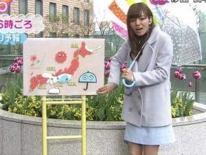 ZIP!(ジップ)の3代目お天気お姉さんを卒業!